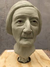 facial reconstruction of Mary Camp Roberts