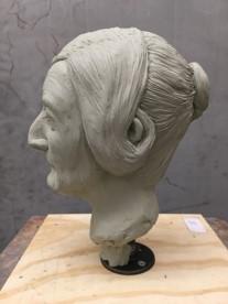 facial reconstruction of iron coffin mummy