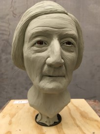 facial reconstruction of Mary Camp Roberts