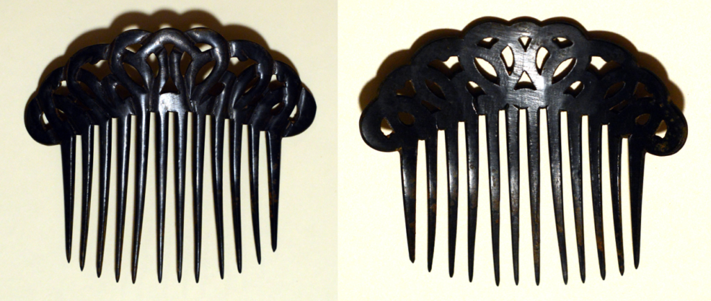 Queens Lady Tortise Shell Hair Comb | Photo credit: John Wozniak